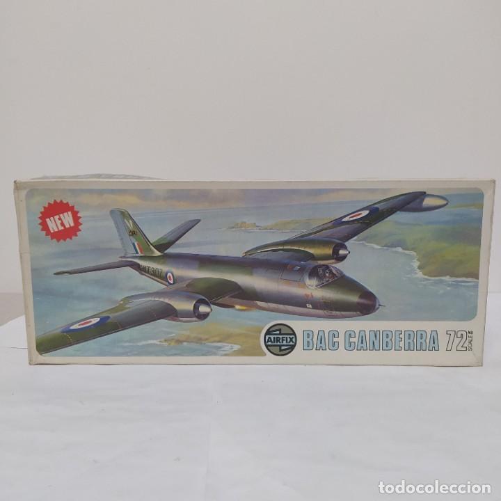 BAC CANBERRA AIRFIX SCALE. NUEVO Y COMPLETO (Juguetes - Modelismo y Radio Control - Maquetas - Aviones y Helicópteros)