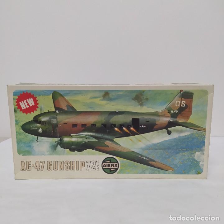AC-47 GUNSHIP 1/72 AIRFIX SCALE. NUEVO Y COMPLETO (Juguetes - Modelismo y Radio Control - Maquetas - Aviones y Helicópteros)
