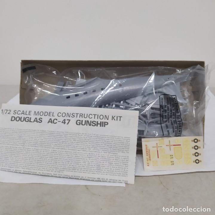 Maquetas: Ac-47 gunship 1/72 Airfix Scale. Nuevo y completo - Foto 2 - 220979685