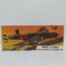 Maquetas: HALIFAX B MK111 1/72 AIRFIX SCALE. NUEVO Y COMPLETO. Lote 220981155
