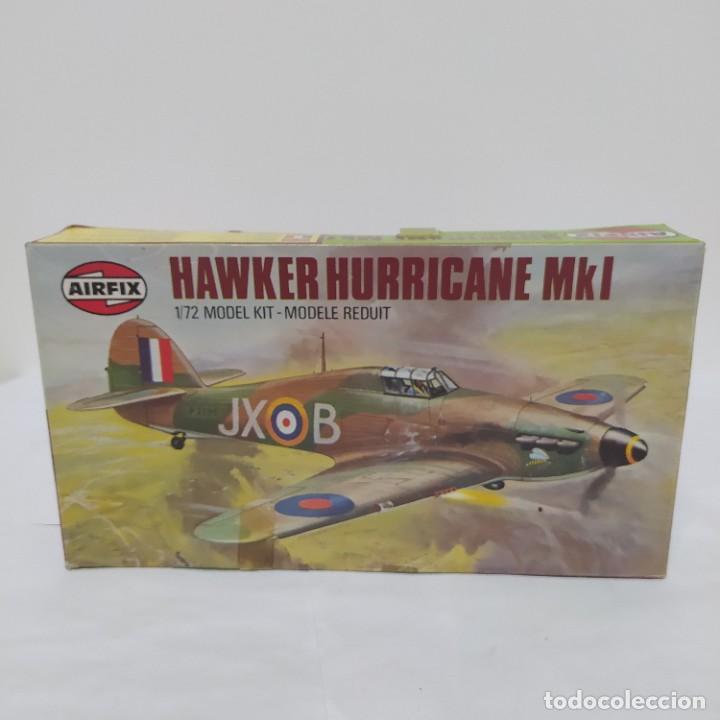 HAWKER HURRICANE MK1 1/72 AIRFIX SCALE. NUEVO Y COMPLETO (Juguetes - Modelismo y Radio Control - Maquetas - Aviones y Helicópteros)