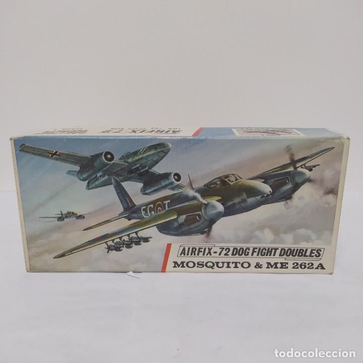 MOSQUITO & ME 262A 1/72 AIRFIX SCALE. NUEVO Y COMPLETO (Juguetes - Modelismo y Radio Control - Maquetas - Aviones y Helicópteros)