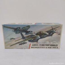 Maquetas: MOSQUITO & ME 262A 1/72 AIRFIX SCALE. NUEVO Y COMPLETO. Lote 220983788