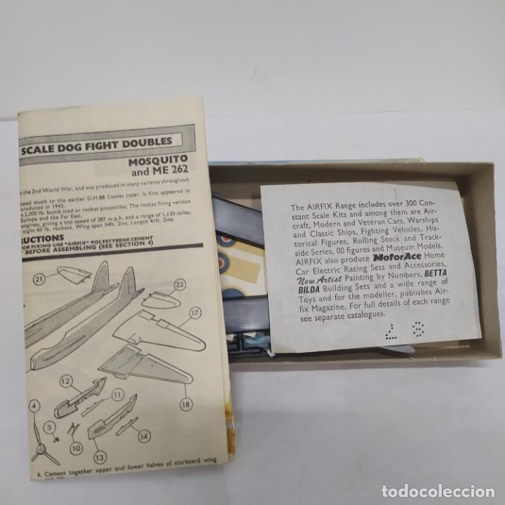 Maquetas: Mosquito & ME 262A 1/72 Airfix Scale. Nuevo y completo - Foto 2 - 220983788