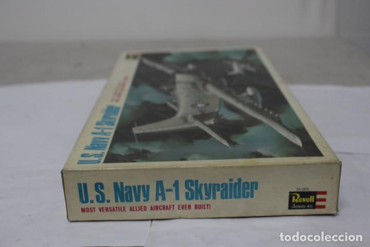 Maquetas: U.S NAVY A-1 SKYRAIDER Revell. Nuevo y completo - Foto 7 - 221099893