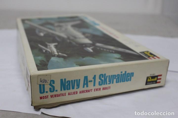 Maquetas: U.S NAVY A-1 SKYRAIDER Revell. Nuevo y completo - Foto 3 - 221101340