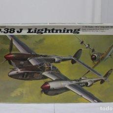 Maquetas: P-38 J LIGTHNING REVELL. NUEVO Y COMPLETO. Lote 221107841