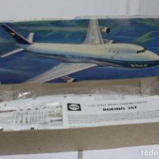 Maquetas: BOEING 747 JUMBO JET AIRFIX- 144. NUEVO Y COMPLETO. Lote 221108943
