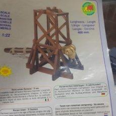 Maquetas: KIT TORRE ARIETE ROMANA DE MANTUA MODEL. Lote 221141605