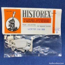 Maquetas: HISTOREX - FIGURINES HISTORIQUES - FIGURAS HISTÓRICAS - MORTIER 1768 - 1835 / 6712 B. Lote 221229337