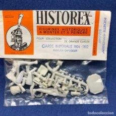 Maquetas: HISTOREX - FIGURINES HISTORIQUES - FIGURAS HISTÓRICAS - GARDE IMPÉRIALE FUSILIER CHASSEUR 1804 -1812. Lote 221233882