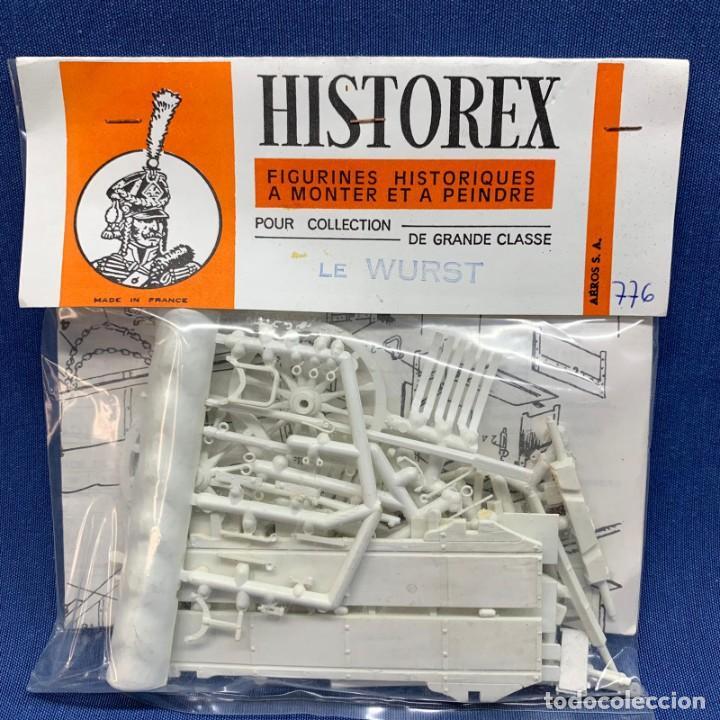 HISTOREX - FIGURINES HISTORIQUES - FIGURAS HISTÓRICAS - LE WURST - 776 (Juguetes - Modelismo y Radiocontrol - Maquetas - Militar)