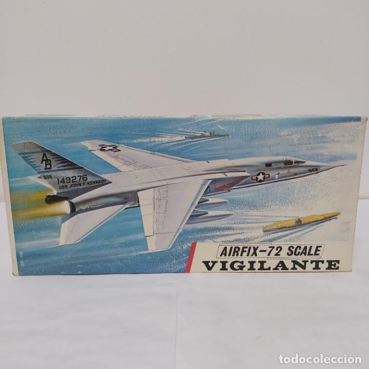 VIGILANTE AIRFIX 72 SCALE. NUEVO Y COMPLETO (Juguetes - Modelismo y Radio Control - Maquetas - Aviones y Helicópteros)