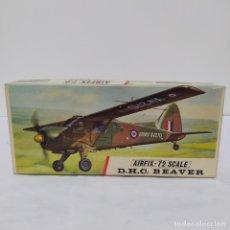 Maquetas: D. H. C. BEAVER AIRFIX 72 SCALE. NUEVO Y COMPLETO. Lote 221299456