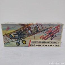 Maquettes: F2B & FOKKER DRI AIRFIX 72 SCALE. NUEVO Y COMPLETO. Lote 221300290