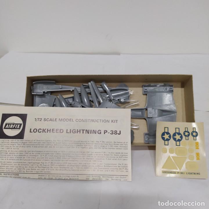 Maquetas: Lockheed lightning P-38j airfix 72 scale. Nuevo y Completo - Foto 2 - 221300655