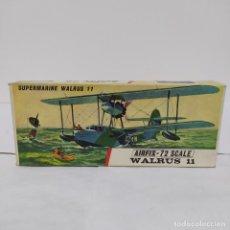 Maquetas: SUPERMARINE WALRUS 11 AIRFIX 72 SCALE. NUEVO Y COMPLETO. Lote 221301300