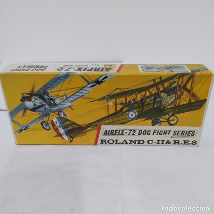 ROLAND C-II & R.E.8 AIRFIX 72 SCALE DOG FIGHT SERIES. NUEVO Y COMPLETO (Juguetes - Modelismo y Radio Control - Maquetas - Aviones y Helicópteros)