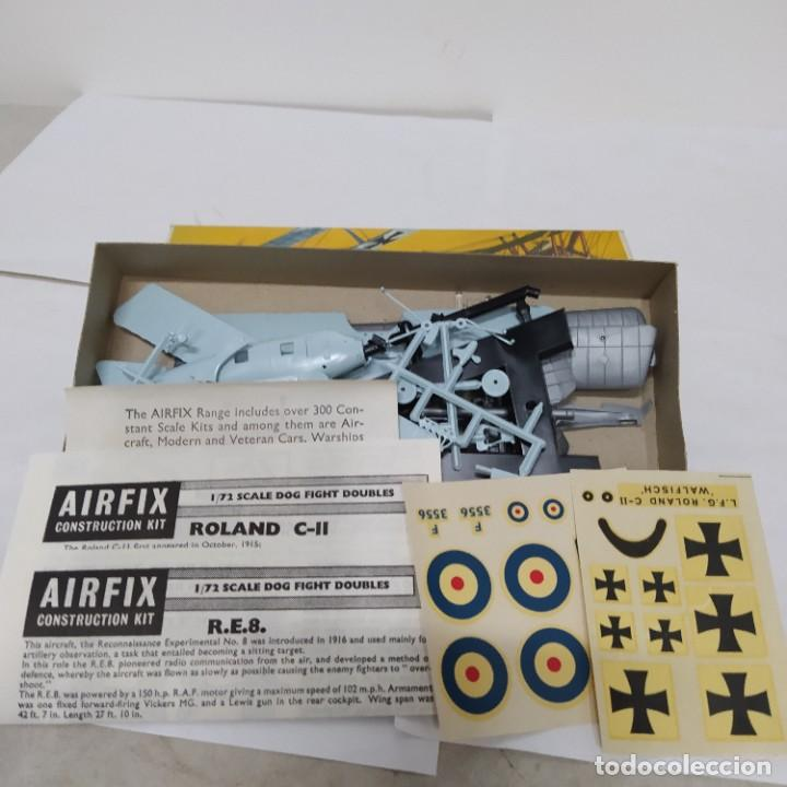 Maquetas: Roland c-II & R.E.8 airfix 72 scale Dog fight series. Nuevo y Completo - Foto 2 - 221301602