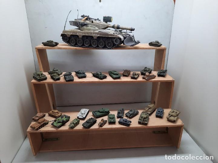 LOTE TANQUE MILITAR PARA MAQUETA DIORAMA TANQUES METALICOS (Juguetes - Modelismo y Radiocontrol - Maquetas - Militar)