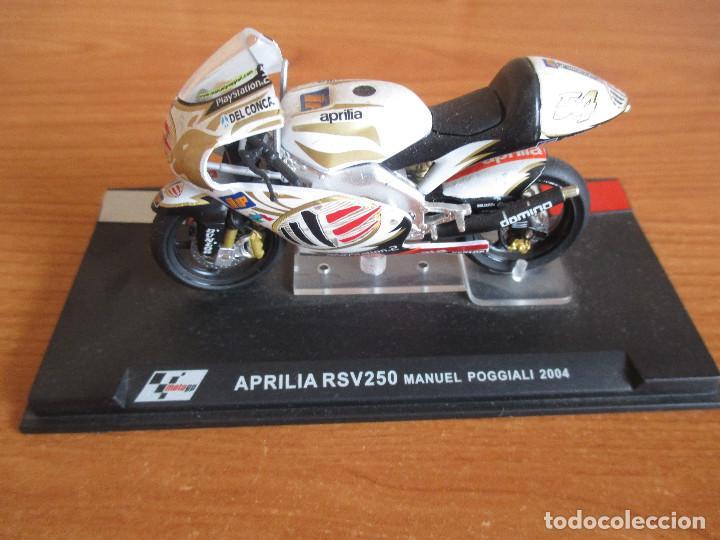 ALTAYA: MOTO GP - APRILIA RSV250 ( MANUEL POGGIALI 2004 ) (Juguetes - Modelismo y Radiocontrol - Maquetas - Coches y Motos)