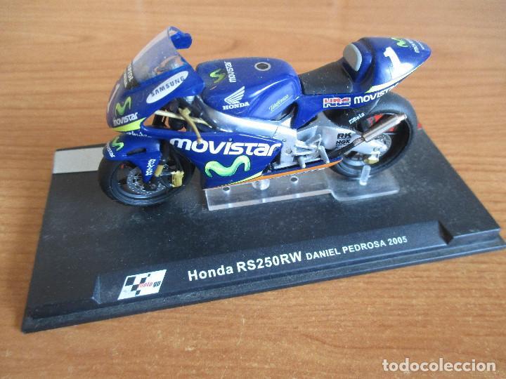 ALTAYA: MOTO GP - HONDA RS250RW ( DANI PEDROSA 2005 ) (Juguetes - Modelismo y Radiocontrol - Maquetas - Coches y Motos)