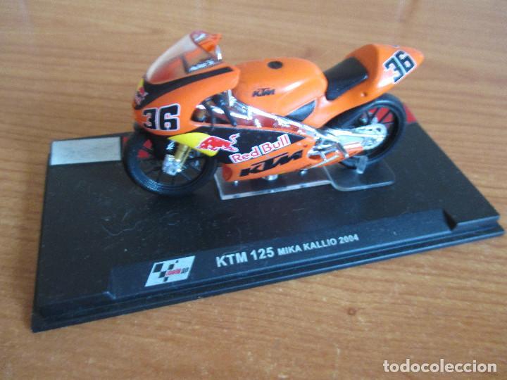 ALTAYA: MOTO GP - KTM 125 ( MIKA KALLIO 2004 ) (Juguetes - Modelismo y Radiocontrol - Maquetas - Coches y Motos)