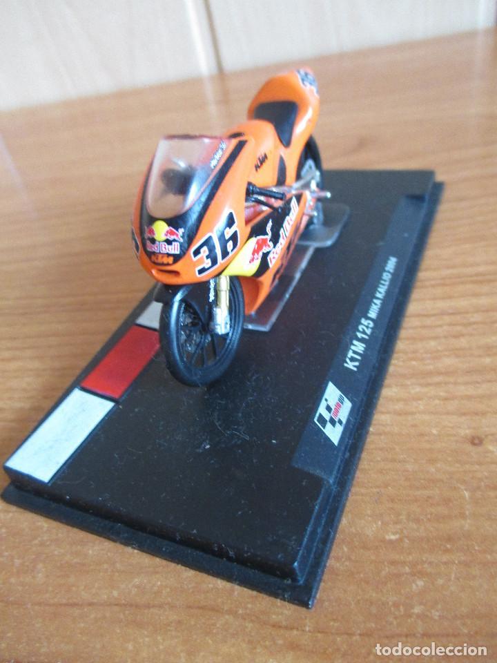 Maquetas: ALTAYA: MOTO GP - KTM 125 ( MIKA KALLIO 2004 ) - Foto 2 - 221391167