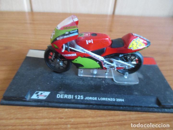 ALTAYA: MOTO GP - DERBI 125 ( JORGE LORENZO 2004 ) (Juguetes - Modelismo y Radiocontrol - Maquetas - Coches y Motos)