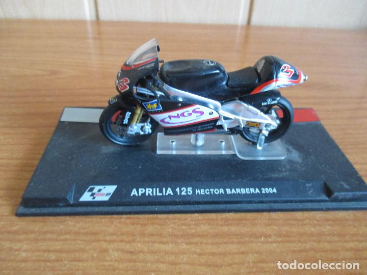 ALTAYA: MOTO GP - APRILIA 125 ( HECTOR BARBERA 2004 ) (Juguetes - Modelismo y Radiocontrol - Maquetas - Coches y Motos)