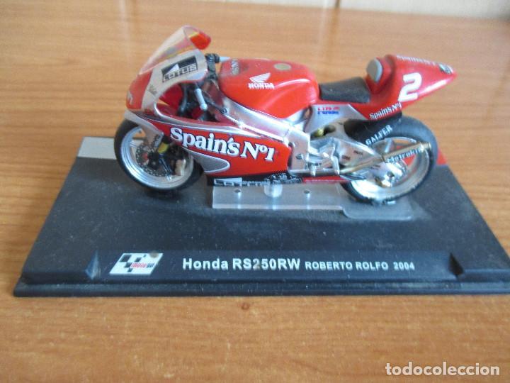 ALTAYA: MOTO GP - HONDA RS250RW ( ROBERTO ROLFO 2004 ) (Juguetes - Modelismo y Radiocontrol - Maquetas - Coches y Motos)