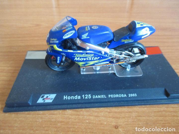 ALTAYA: MOTO GP - HONDA 125 ( DANI PEDROSA 2003 ) (Juguetes - Modelismo y Radiocontrol - Maquetas - Coches y Motos)