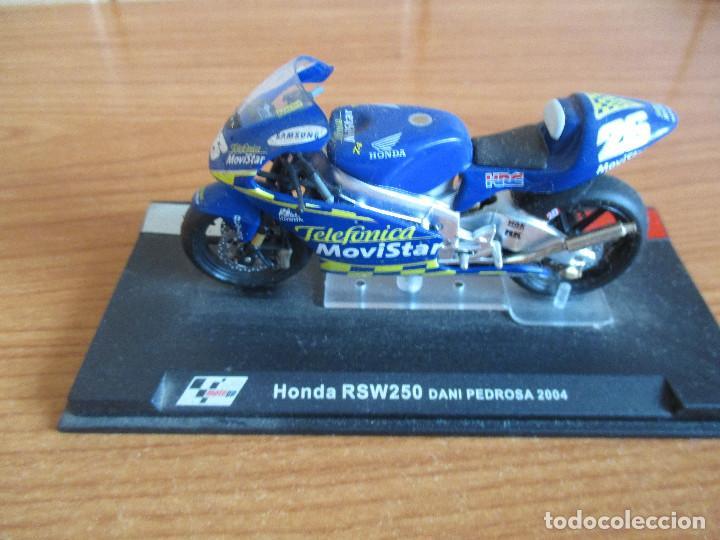 ALTAYA: MOTO GP - HONDA RSW250 ( DANI PEDROSA 2004 ) (Juguetes - Modelismo y Radiocontrol - Maquetas - Coches y Motos)