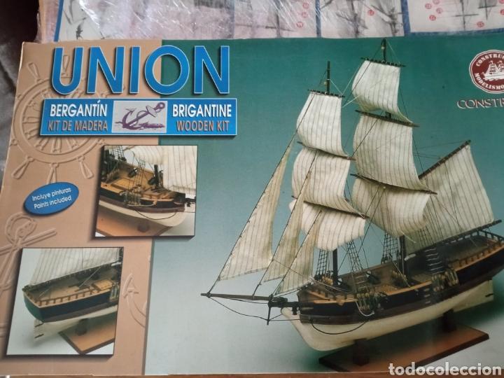MAQUETA BARCO MADERA UNION - CONSTRUCTO (Juguetes - Modelismo y Radiocontrol - Maquetas - Barcos)