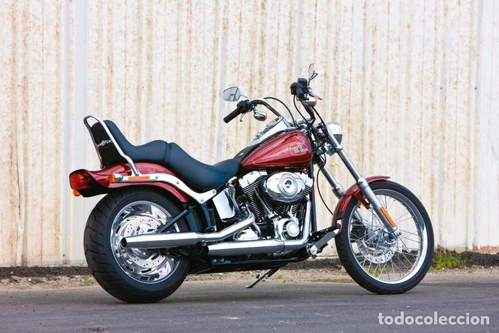 Maquetas: HARLEY DAVIDSON FXSTC Softail Custom 1:9 REVELL 07958 maqueta moto - Foto 4 - 221512156