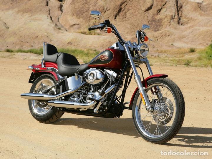 Maquetas: HARLEY DAVIDSON FXSTC Softail Custom 1:9 REVELL 07958 maqueta moto - Foto 6 - 221512156