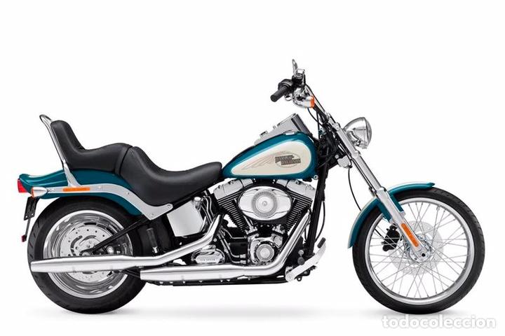 Maquetas: HARLEY DAVIDSON FXSTC Softail Custom 1:9 REVELL 07958 maqueta moto - Foto 8 - 221512156