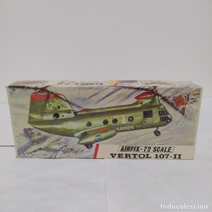 VERTOL 107 -II AIRFIX 72 SCALE. NUEVO Y COMPLETO (Juguetes - Modelismo y Radio Control - Maquetas - Aviones y Helicópteros)