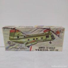 Maquetas: VERTOL 107 -II AIRFIX 72 SCALE. NUEVO Y COMPLETO. Lote 221552722