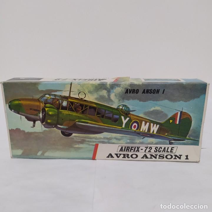 AVRO ANSON 1 AIRFIX 72 SCALE. NUEVO Y COMPLETO (Juguetes - Modelismo y Radio Control - Maquetas - Aviones y Helicópteros)