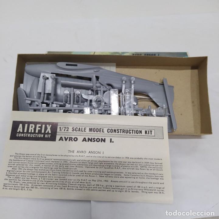 Maquetas: Avro Anson 1 airfix 72 scale. Nuevo y Completo - Foto 2 - 221555790