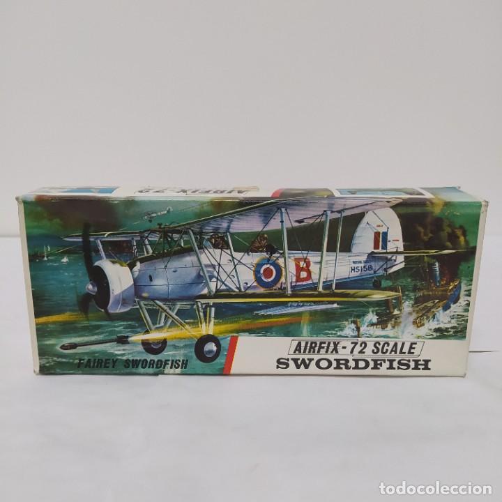 SWORDFISH AIRFIX 72 SCALE. NUEVO Y COMPLETO (Juguetes - Modelismo y Radio Control - Maquetas - Aviones y Helicópteros)