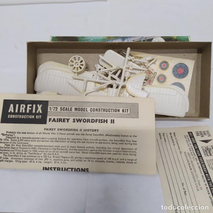 Maquetas: Swordfish airfix 72 scale. Nuevo y Completo - Foto 2 - 221556850