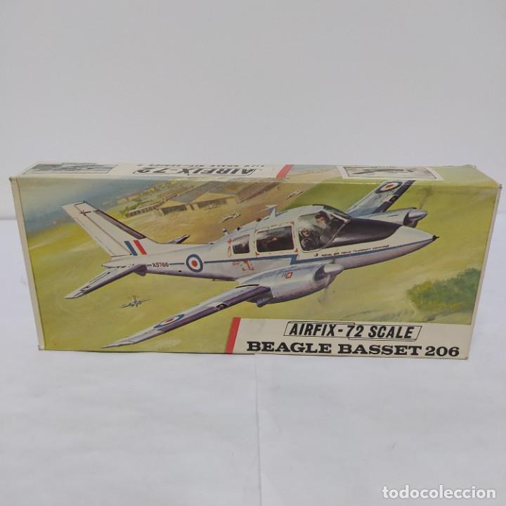 BEAGLE BASSET 206 AIRFIX 72 SCALE. NUEVO Y COMPLETO (Juguetes - Modelismo y Radio Control - Maquetas - Aviones y Helicópteros)