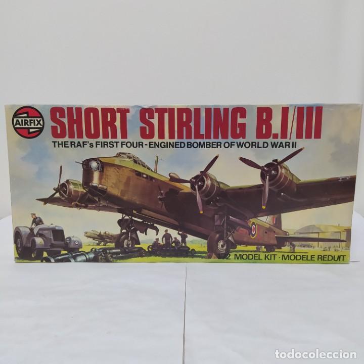 SHORT STIRLINGS B. I/III AIRFIX 72 SCALE. NUEVO Y COMPLETO (Juguetes - Modelismo y Radio Control - Maquetas - Aviones y Helicópteros)