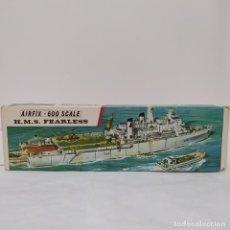 Maquetas: HMS FEARLESS AIRFIX 600 SCALE. NUEVO Y COMPLETO. Lote 221647678