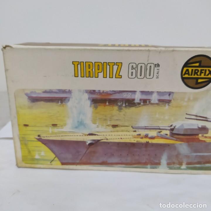 Maquetas: Tirpitz airfix 600 scale. Nuevo y completo pero sin calcas - Foto 2 - 221649113
