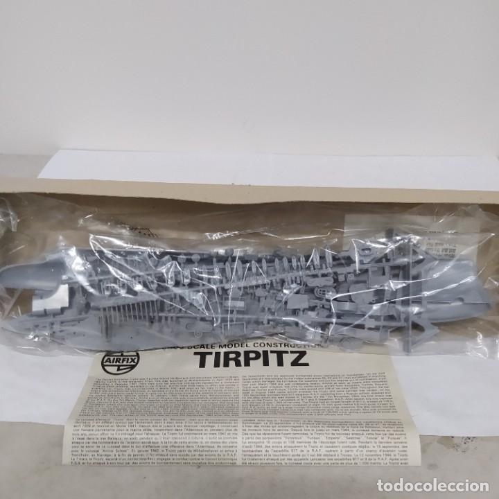 Maquetas: Tirpitz airfix 600 scale. Nuevo y completo pero sin calcas - Foto 3 - 221649113