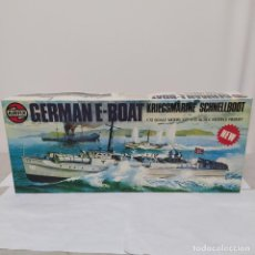 Maquetas: GERMAN E-BOAT AIRFIX 1/72 SCALE. 1975 . NUEVO Y COMPLETO BOLSA SIN ABRIR. Lote 221650747