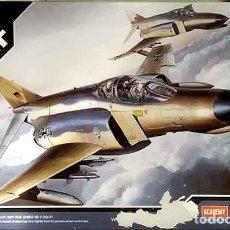 Maquetas: MAQUETA DEL CAZABOMBARDERO MCDONNELL F-4F PHANTOM II DE LA LUFTWAFFE DE ACADEMY A 1/144. Lote 221719702